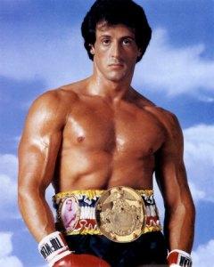 Sylvester Stallone as Rocky Balboa in Rocky III.